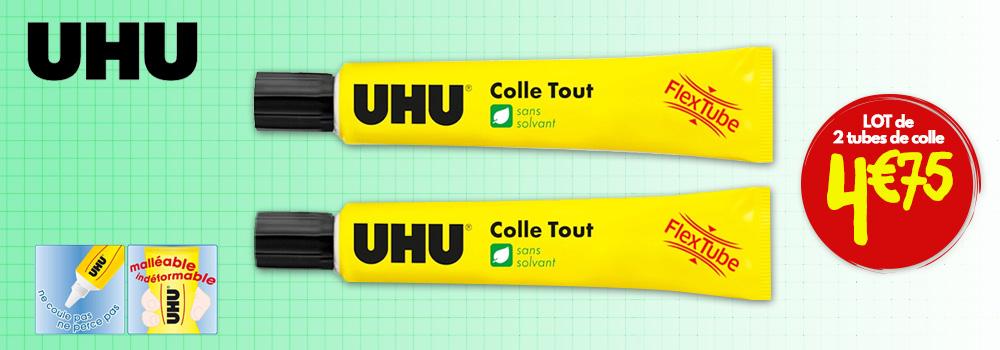 Lot-de-2-tubes-de-colle-liquide-Uhu-Flex-and-Clean-20g