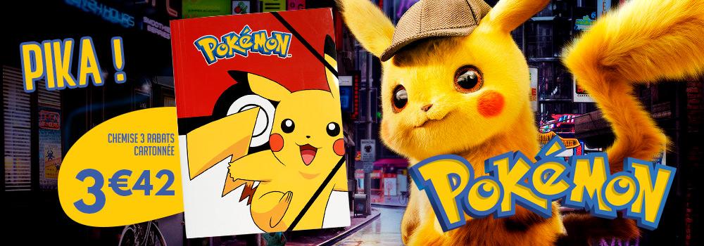chemise-a-rabat-pokemon-pikachu-carton