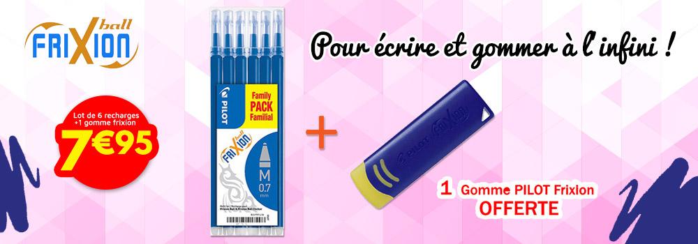 Lot-de-6-recharges-pour-stylo-PILOT-Frixion-bleues-0,7mm-+-Gomme-PILOT-Frixion
