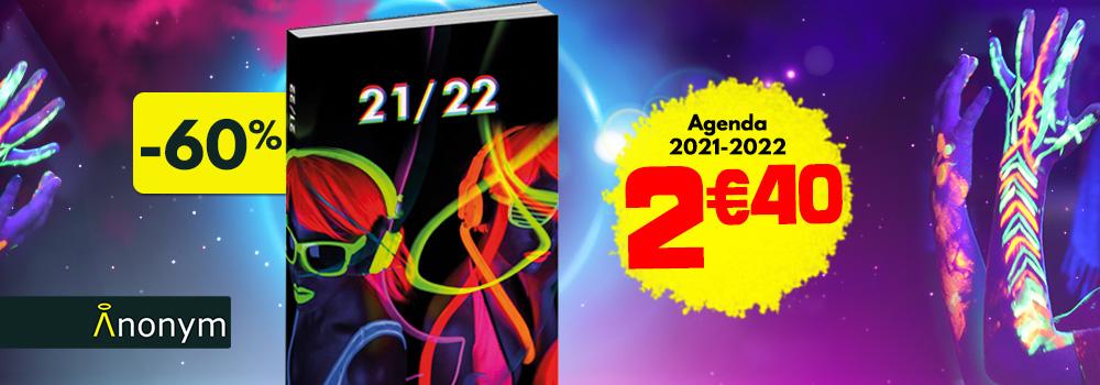 Agenda-scolaire-ANONYM-Neon-Disco-2021-2022