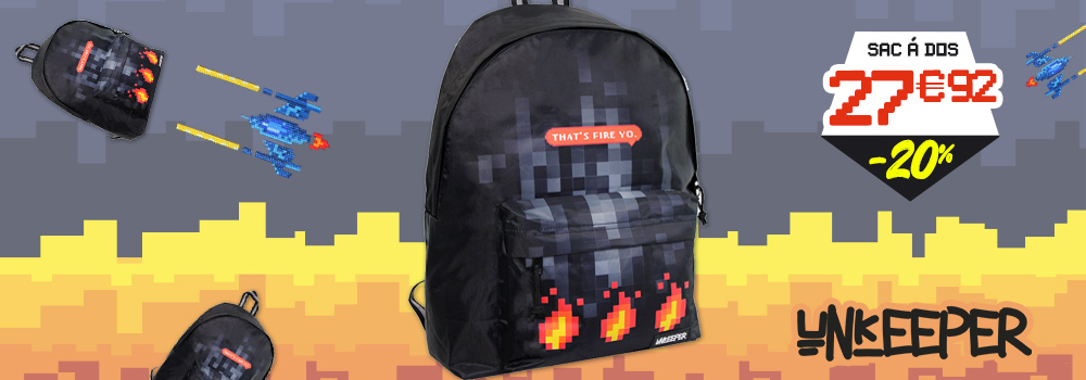Sac-à-dos-UNKEEPER-Gaming-Noir