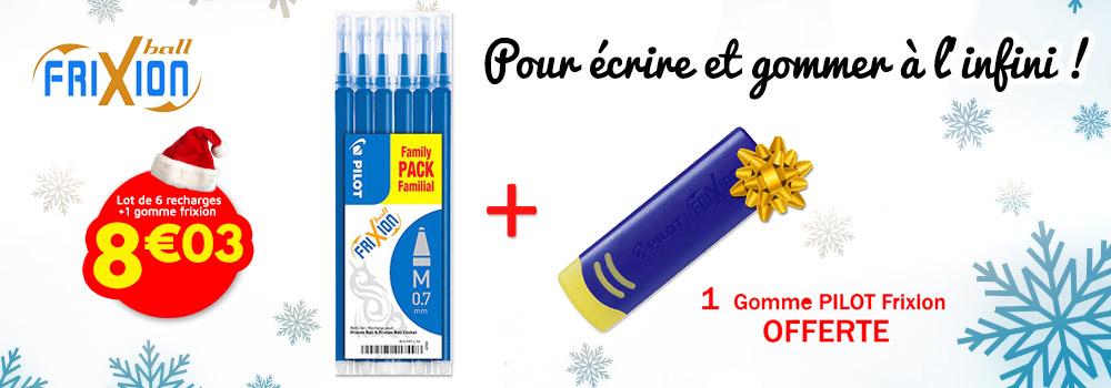 Lot-de-6-recharges-pour-stylo-et-Gomme-PILOT-Frixion