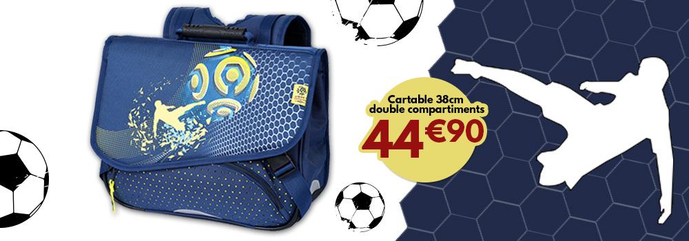 cartable-football-38cm-double-compartiments-sans-promo