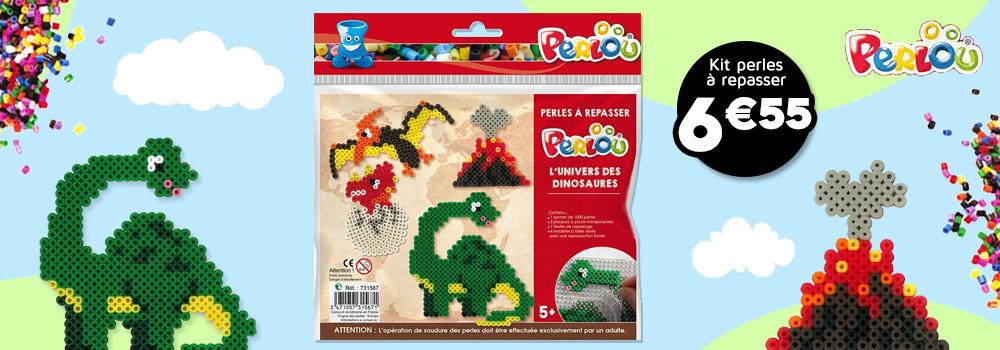 Kit-perles-à-repasser-PERLOU-motifs-dinosaures