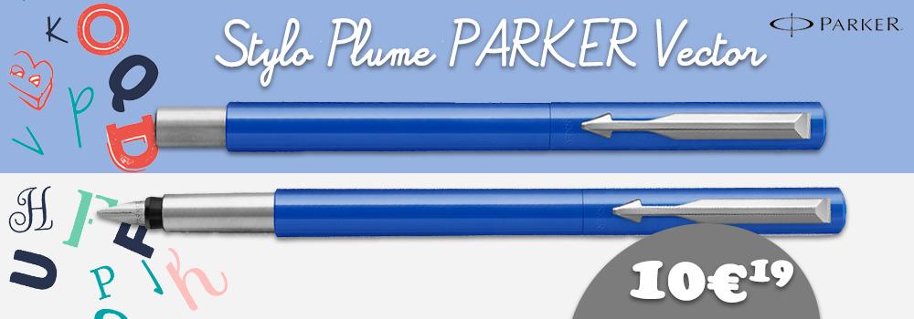 stylo-plume-parket-vector-bleu
