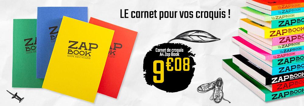 Carnet-de-croquis-A4-Zap-Book-CLAIREFONTAINE-320p