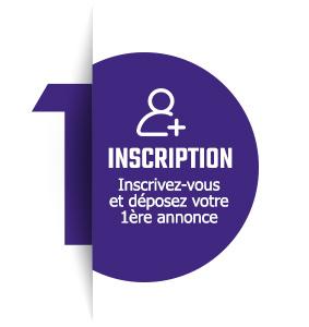 01 covoiturage INSCRIPTION -bloc-violet