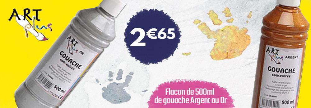 Flacon-de-500ml-de-gouache-Argent