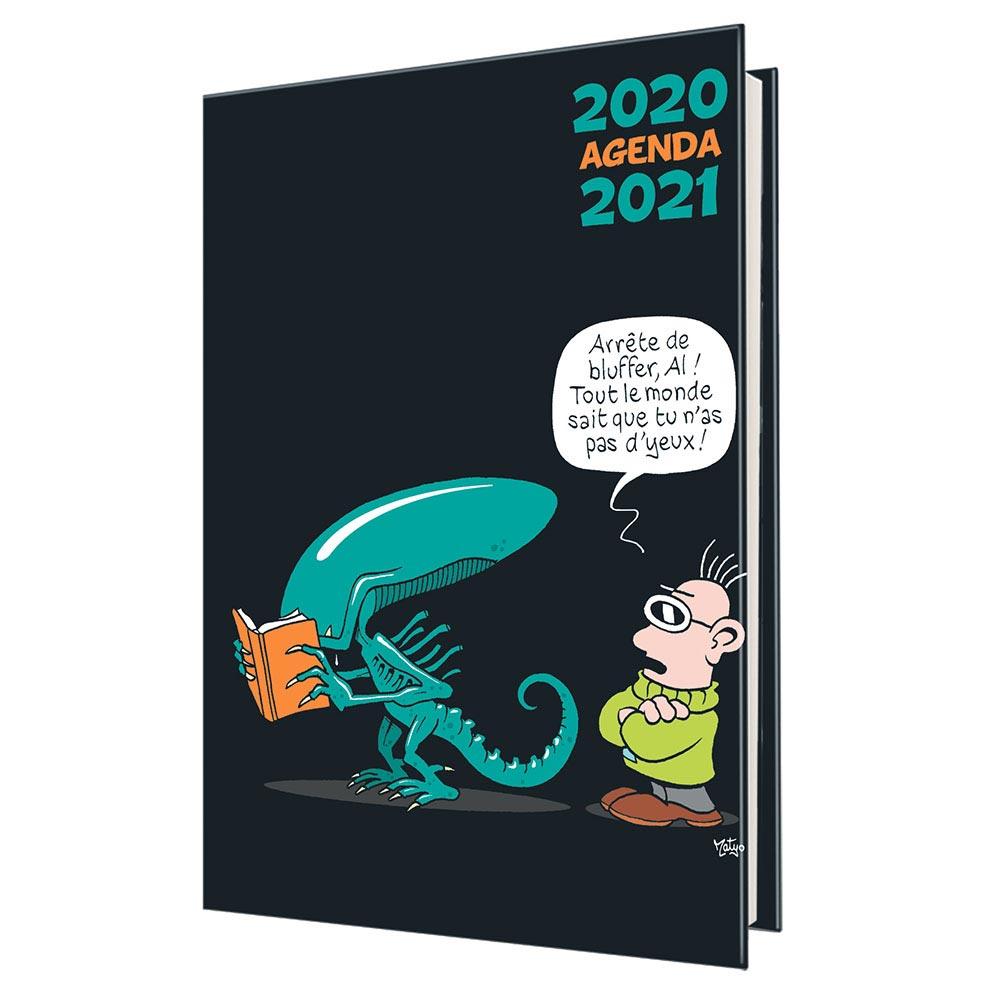 Agenda scolaire OBERTHUR Humour Alien 2020/2021 : Chez scoleo