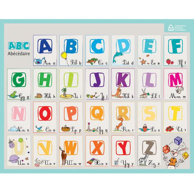 Fiche Memo Souple Alphabet Et Nombres Bouchut 20 5 X 26 5 Cm Chez Scoleo Materiel Pedagogique